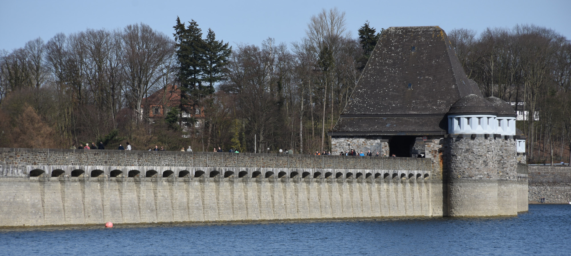 Dam of the Möhne Reservoir
