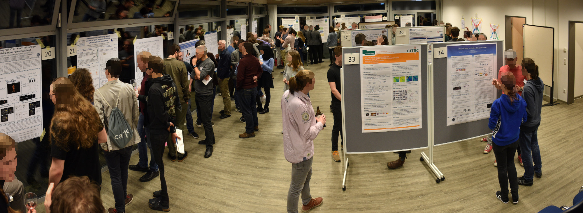 Poster Session at IK